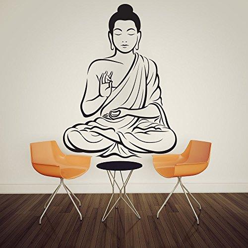 customwallsdesign Sticker mural Motif Bouddha indien