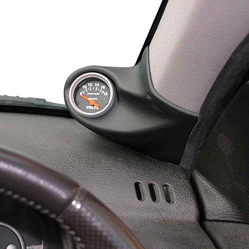 RGM A-Säulehalterung Rechts - 1x 52mm - kompatibel mit Seat Ibiza/Cordoba 6K2 1999-2002 - Schwarz (ABS)