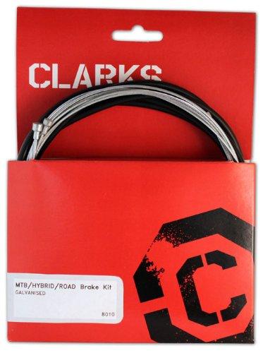 Clarks Kit de câble de Frein de Route galvanisé VTT/Hybride/vélo