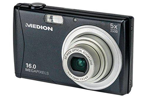 Medion E44050 Life 16MP Digitalkamera mit 5-Fach optischem Zoom und 26 mm Weitwinkel-Objektiv