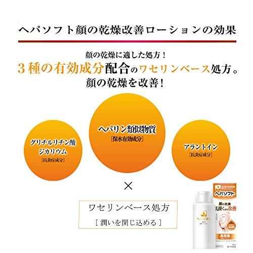 ロート製薬ヘパソフト『薬用顔の乾燥改善ローション』
