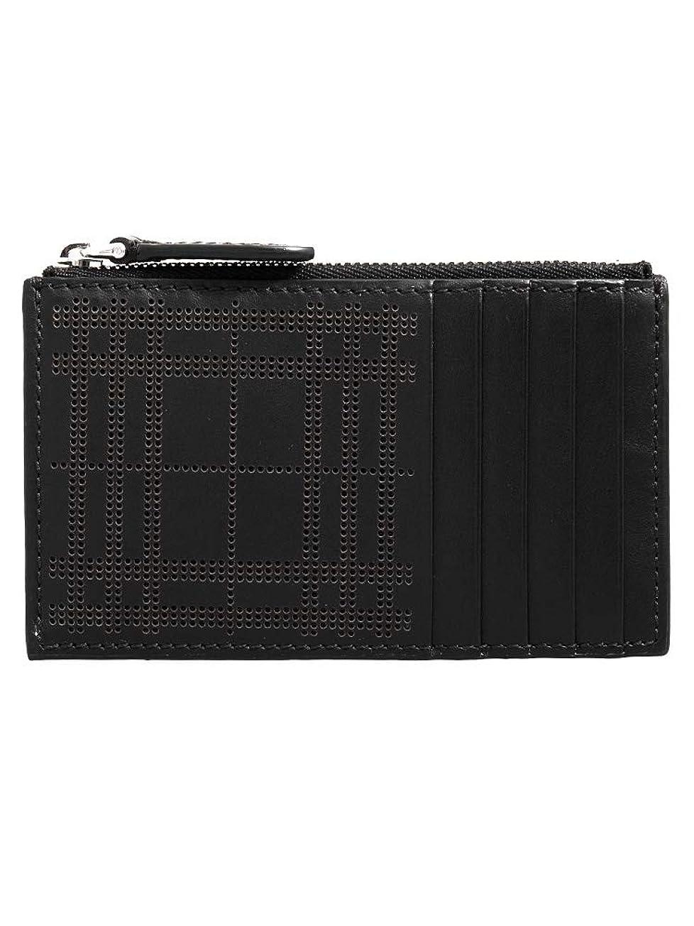 マーケティング便利未払い[バーバリー] BURBERRY メンズ カードケース ブラック ALWYN 8005950 TKR:ABPUI A1189 BLACK [並行輸入品]