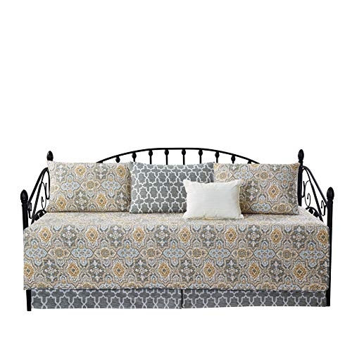 Home Soft Things 6 Piece Quilted Daybed Bedding Cover Set, Soft Lightweight Microfiber Coverlet Bedspread Quilts Set with Matching Shams and...