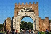 イタリアアルコディアグストゥスリミニジグソーパズル大人用1000ピース木製トラベルギフトお土産