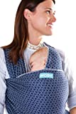 Moby Wrap Baby Carrier | Evolution | Baby Wrap Carrier for Newborns & Infants | #1 Baby Wrap | Go to Baby Gift | Keep baby safe & secure | Adjustable for all body types | Perfect for Mom & Dad | Batik