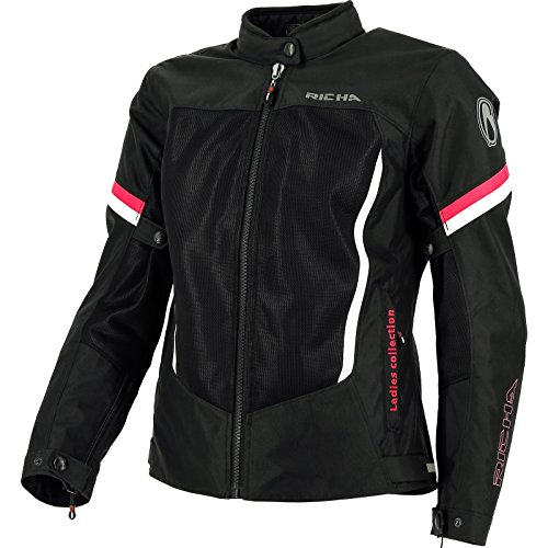 2ABD700-DM - Richa Airbender Ladies Motorcycle Jacket M Black Pink