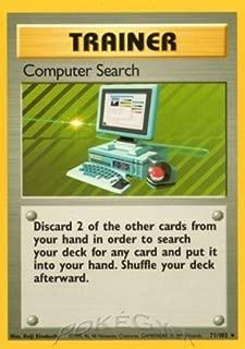 Pokemon - Computer Search (71/102) - Base Set