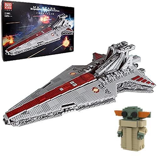 HEDI Technik 21005 Super Star UCS - Kit di montaggio per crocifisso con mattoncini compatibili con Lego Star Wars
