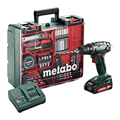 Metabo 602207880 Battery Drill BS 18 Mobile Workshop Set*