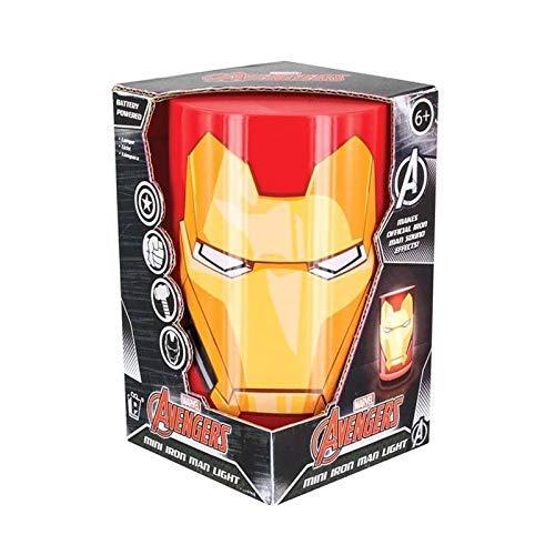 Paladone Mini Iron Man Licht mit Sound, Mehrfarbig