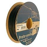 Proto-pasta CDP11705 Composite Conductive PLA, 1.75 mm 500 g, Black
