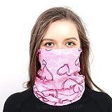 riou Damen Bandana Multifunktionstuch Schlauchtuch Sommer UV-Schutz Dünn Mundschutz Halstuch Schlauchschal