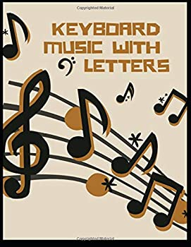 keyboard music with letters  Blank Sheet Music Composition and Notation Notebook /Staff Paper/Music Composing / .. music/blank sheet music paper Size 8.5x11