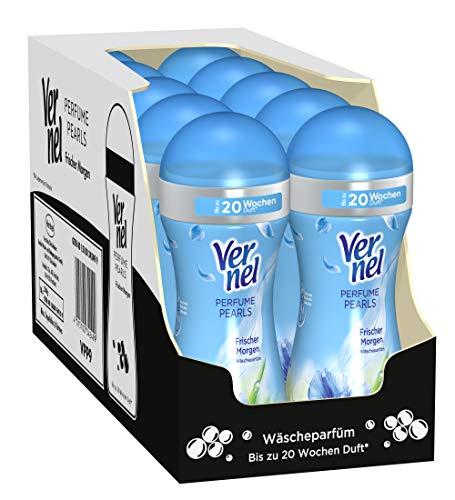 Vernel Perfume Pearls Frischer Morgen Wäscheparfüm (10er Pack (10 x 230 g) Waschmittel)