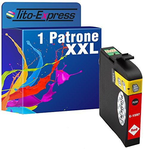 1de tinta XXL Red para Epson Stylus Photo R2000te1597platinumserie