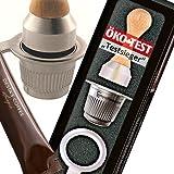 Juego de cápsulas de café Nespresso rellenables y reutilizables de acero inoxidable para baristas