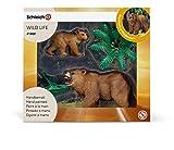 SCHLEICH 41402 Grizzlybären Set