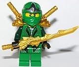 LEGO Lloyd ZX - Gold weapons pack (Armor, Shamshir & Dragon Swords)