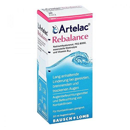 Artelac Rebalance Augentropfen Tropfflasche, 10 ml Lösung