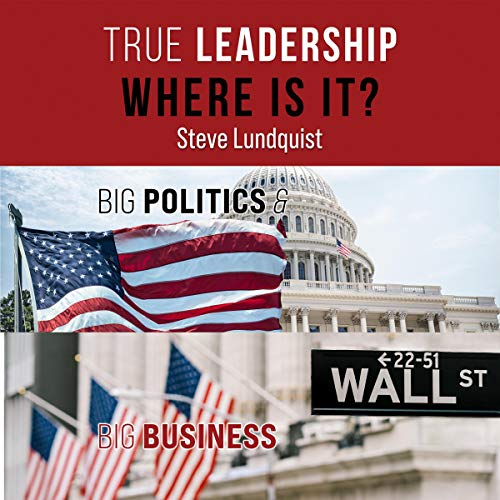 True Leadership...Where Is It? Audiobook By Steve Lundquist cover art