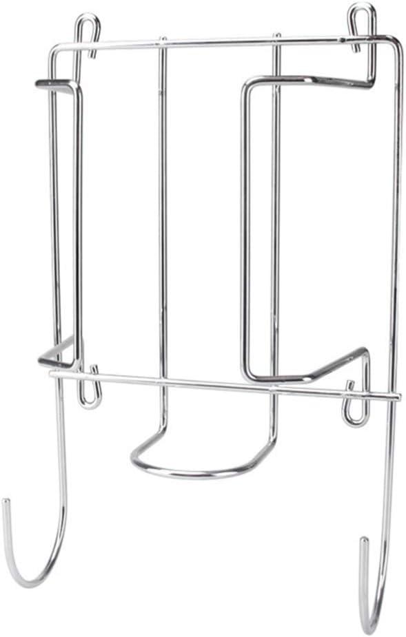 GARNECK Soporte de Tabla de Planchar de Montaje en Pared de Metal Estante de Tabla de Planchar Colgante con Gancho para Cuarto de Lavado en El Baño (Electrochapa)