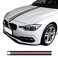 車のステッカー サイドスカート デコレーション, BMW f30 f31 e90 f34 e46 e39 e60 f10 f11 f20 x5 g30 f36 x3 x4、カーフードエンジンカバーボンネットステッカー用