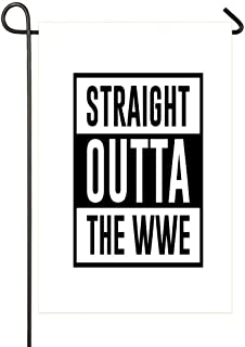 HOOSUNFlagrbfa Straight Outta The WWE A House is Not a Home Without Garden Flag