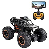 RC Cars 2.4Ghz Remote Control Toys Car with 720P FPV WiFi Camera, 1:18 Scale Off-Road Remote Control Truck Gift for Kids Adults