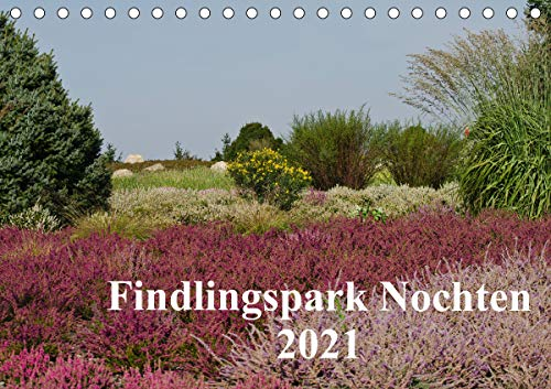 Findlingspark Nochten 2021 (Tischkalender 2021 DIN A5 quer)