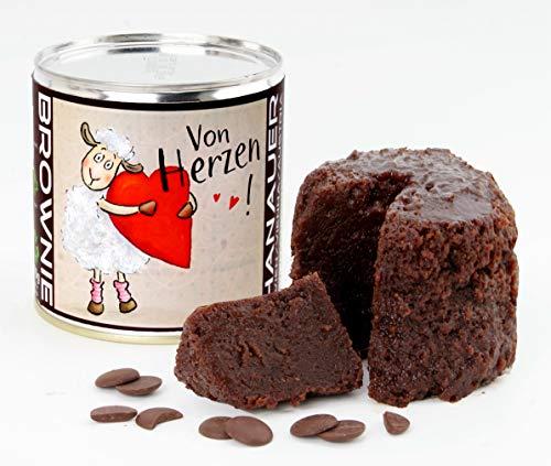 Hanauer BIO Brownie (Glutenfrei), 1er Pack (1 x 170 g) 898