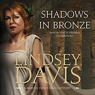 Shadows in Bronze audiobook cover art