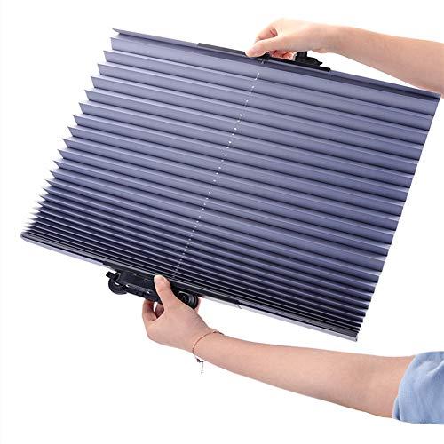 Preisvergleich Produktbild Qnlly Auto Windschutzscheibe Sonnenschutz,  Faltbare Auto Sonnenschutz,  Aluminiumfolie UV-Schutz,  Wärme Reflektierendes,  Einfach Zu Bedienen,  Für SUV,  Truck,  Auto
