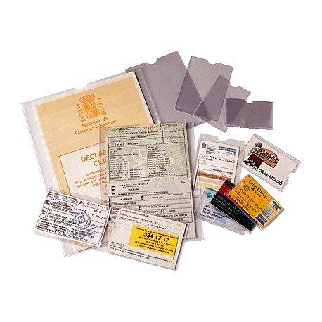 ESSELTE 46002 - Caja 100 portacarnets 65Q 67 x 98 mm ⭐