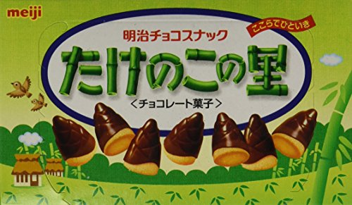 Meiji Takenoko No Sato Chocolate, 2.71 Ounce