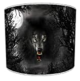 12 Inch Ceiling Wolf lampshade 11