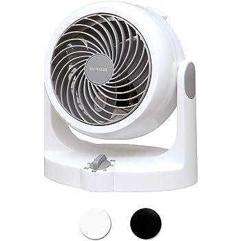 アイリスオーヤマ サーキュレーター 首振り固定 8畳 パワフル送風 ホワイト PCF-HD15N-W