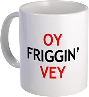 CafePress Oy Friggin' Vey Unique Coffee Mug, Coffee Cup