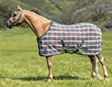 Kensington Platinum SureFit Protective Fly Sheet for Horses - SureFIt Cut with Snap Front Chest Closure - Made of Grooming Mesh This Sheet Offers Maximum Protection Year Round
