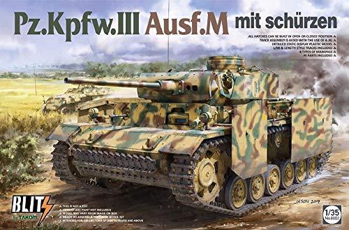 TAKOM TAK8002 8002 1/35 Panzer III AUSF. M mit Schürzen