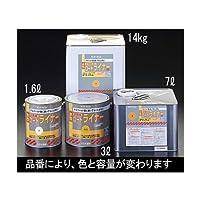 エスコ 14kg水性 路面標示用塗料 黄 EA942EH-82 [その他]