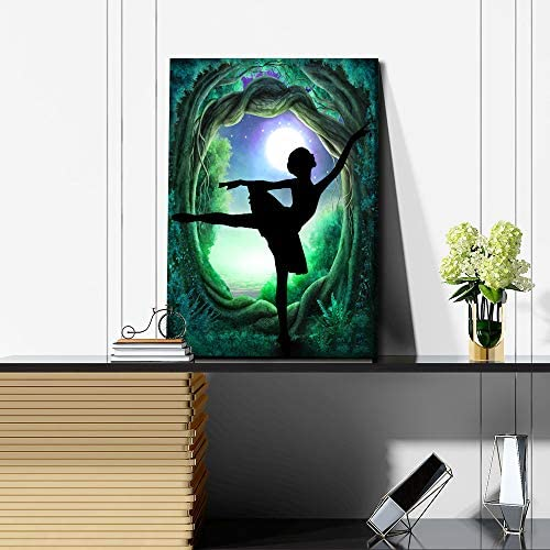 Abstract dance paintings _image2