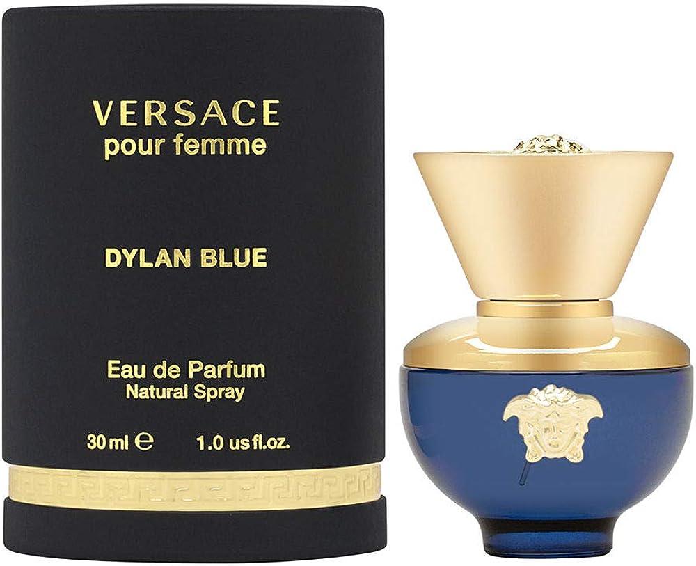 Versace ,dylan blue,eau de parfum da donna , 30 ml VE702028