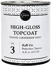 Giani Countertop Paint Clear Acrylic High-Gloss Topcoat- Step 3