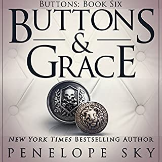 Buttons and Grace audiobook cover art