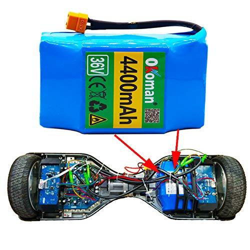 HZHZ 100% Nouvelle Batterie Au Lithium D'origine 36v 4.4ah 10s2p 36v Batterie 4400mah Lithium Ion Pack Scooter Torsion Batterie De Voiture