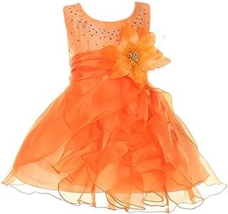 Best orange organza dress Reviews
