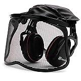 Husqvarna 505 66 53-58 casco protector de oídos - Cascos protectores de oídos (Negro, Diadema)