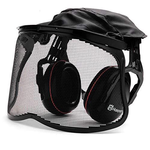 Husqvarna 5056653–58Gehörschutz Gehörschutz-Headset (schwarz, Kopfband)
