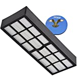 HQRP H13 Filter Compatible with Eureka HF-7 fits SurfaceMax 300 2976AVZ Upright Vacuum Cleaner Coaster