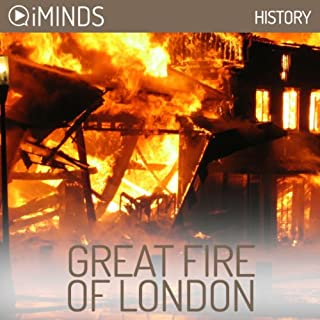 Great Fire of London audiobook cover art